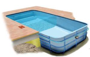 Строительство композитного бассейна. Тюмень