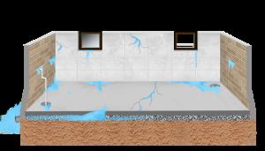 гидроизоляция подвала изнутри от грунтовых вод Тюмень